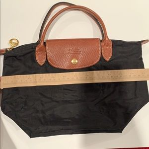Black small tote Longchamp Bag